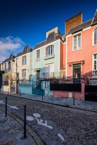 Rue Dieulafoy - Paris XIII - 17 mm TSE Canon