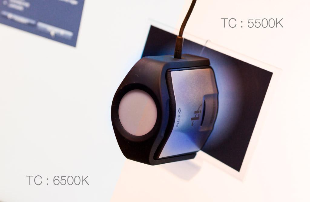 Choix de la TC : 5500K ou 6500K