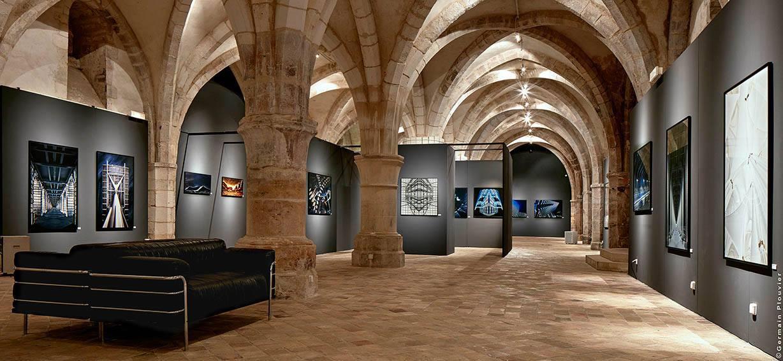 """Exposition """"Oniroplis"""" de Germain Plouvier à l'Abbaye Saint-Germain d'Auxerre"""